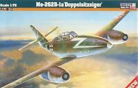 MESSERSCHMITT Me-262 B-1A (RAF, USAAF ANDLUFTWAFFE MKGS) 1/72 MISTERCRAFT