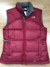 The North Face 600 Down Vest Girls Size XL Maroon Excellent
