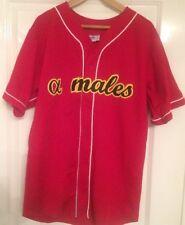 More details for athletic apparel - alpha males baseball jersey/shirt #6 gimpy large milt pappas