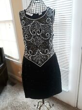 W14 STRAPLESS BLACK BUBBLE DRESS CRUISE HOMECOMING,PROM WEDDING /& PARTY