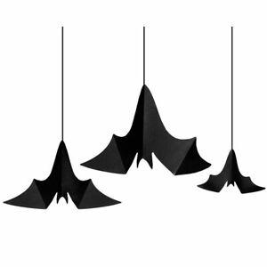 Hanging Paper Bats - Halloween