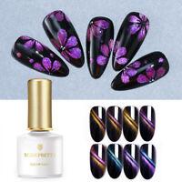 BORN PRETTY 6ml Gradient 3D Magnetic UV Gel Polish Glitter Soak Off Nail Art Gel
