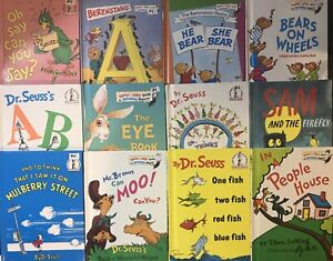 Dr. Seuss Hardcover books Lot
