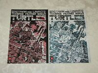 IDW Teenage Mutant Ninja Turtles #1 RE Shattered Comics Cover Green & Red Set