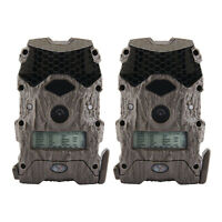 Wildgame Innovations Mirage Series No Glow 16 MP Outdoor Camera, Green (2 Pack)