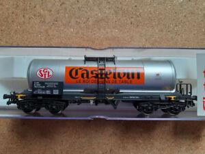 """ELECTROTREN 5820 K HO - WAGON CITERNE """"CASTELVIN"""" SNCF"""