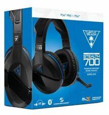 Turtle Beach Stealth 700 Black/Blue Wireless Surround Sound Gaming Headset  PS4