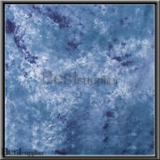 10x12ft Photo Studio Ocean Blue Muslin Backdrop Video Hand Painted Background