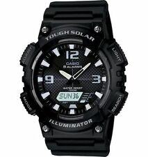 Casio New AQ-S810W-1AV Digital Analog Watch Tough Solar ALARM AQ-S810 Black