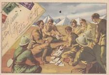 C901) WW ETIOPIA, DISTRIBUZIONE DELLA POSTA AI LEGIONARI. ILL. DE ALESSANDRI