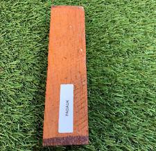 """1-1/2"""" x 1"""" x 5"""" PADAUK Wood Lumber Blank DIY Material for Music Instrument"""