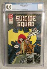Suicide Squad #48 CGC 8.0 Killing Joke Batgirl Joker