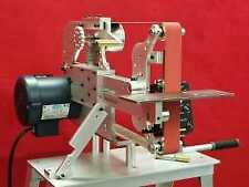 2x72 belt grinder-Horizontal / Vertical - motor, Vfd, - Reeder