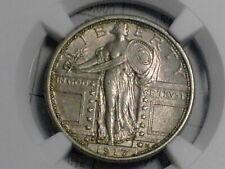 1917 S Type 1 Standing Liberty Quarter...NGC AU 58
