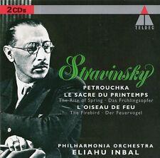 Stravinsky: Petrushka · The Firebird · The Rite of Spring / Eliahu Inbal [2 CDs]