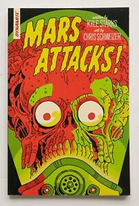 Mars Attacks Starks Schweizer Dynamite Graphic Novel Comic Book