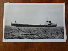 Lot13d M.S. 145 Motor Vessel EDENMORE Furness Withy & Co Postcard