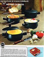 PUBLICITE ADVERTISING 024   1965   AUBECQ     les MITONS