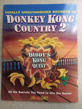 Totally Unauthorized Secrets to Donkey Kong Country 2 by BradyGames Staff...