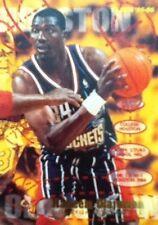 1995 - 1996 Fleer Hakeem Olajuwon Houston Rockets #224 Basketball Card
