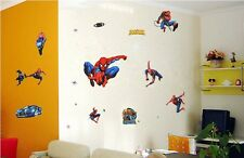 Large Spiderman Wall Art Stickers Removable Kids Nursery Vinyl Decal Decor DIY