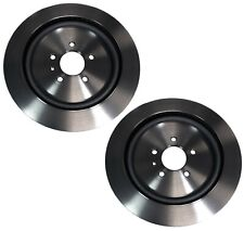 Brembo Pair Set of 2 Rear Vented HC UV Coated Disc Brake Rotors For Ford Mustang