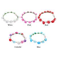Led light hair band ring headband hair accessories headdress flower garland LN8C