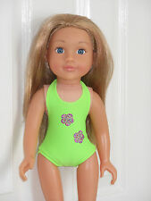 Clothes for Design a Friend doll. Swimsuit.