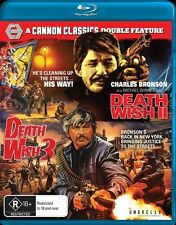 Death Wish 2 / Death Wish 3 (Blu-ray, 2017, 2-Disc Set)