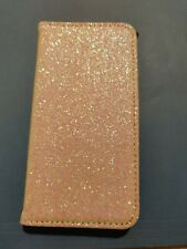 Forever 21 White Glitter iPhone 6 6s 7 compatible case card holder NEW NWT Girl