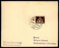 """3. REICH BRIEF 1936 SStpl. """"MÜNCHEN - DAS BRAUNE BAND"""" h2052"""
