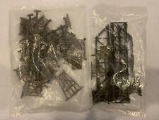 Life-Like HO Scale 35 Piece Bridge and Trestle Set New