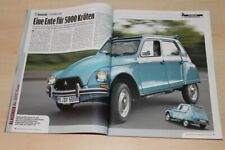 Auto Bild Klassik 1539) Tips für Citroen Dyane 6 mit 32PS Gebrauchtwagenkäufer -
