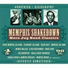 Memphis Shakedown: More Jug Band Classics [Box] by Various Artists (CD 4 Discs)