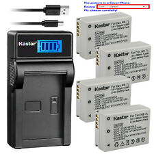 Kastar Battery LCD Charger for Canon NB-7L CB-2LZ Canon PowerShot G10 IS Camera