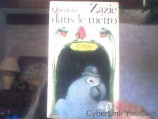 Raymond Queneau pour Zazie dans le metro