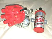 Holden V8 253-304-308 Distributor Complete Suit Carby Engine Only With Red Coil