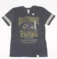 Junk Food Mens Baltimore Ravens NFL T-Shirt Tank Top Grey M New