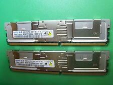 Samsung 8GB (2x4GB) PC2-5300F DDR2 Registered ECC FB-DIMM 2RX4 M395T5160QZ4-CE65