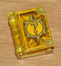 LEGO -  Minifig, Utensil Book Cover with Question Mark Pattern - Pearl Gold