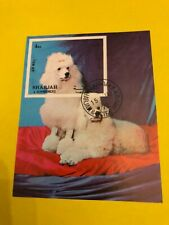 Postage stamps dog s sheet