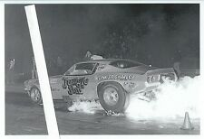 "1970s Drag Racing-""Jungle Jim"" Liberman's 1970 Camaro Funny Car-Fire Burnout"