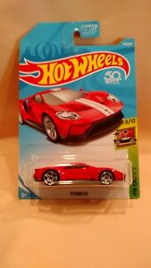 HOT WHEELS EXOTICS '17 FORD GT RED