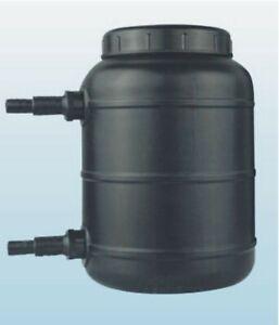 Biological & Mechanical Pond Filter: 1000 GPH for pond & aquarium Filter