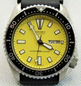 Seiko 'TURTLE' SDEB39 Scuba Divers 150M 6309-729A Gents Automatic Watch c.1984