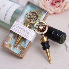 Metal Bottle Stopper Wine Storage Twist Cap Plug Reusable Vacuum Pop UK