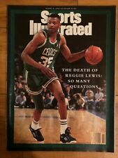 Sports Illustrated The Death of Reggie Lewis 1991