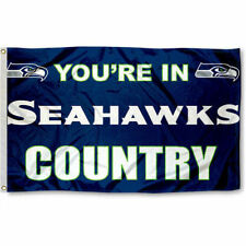 Seattle Seahawks Country Grommet Pole Flag