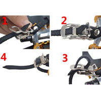 2pcs Cycling Road Bike Mountain Bicycle Toe Clips With Straps For Bike Pedal S