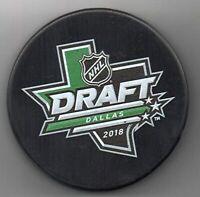 2018 NHL Entry Draft Dallas Stars Texas American Airlines NHL Hockey Puck + Cube